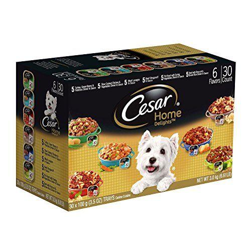 Cesar Home Delights Wet Dog Food Variety Pack 3 5 Oz 30 Ct