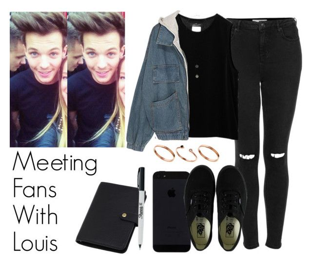 Meeting Fans With Louis by the4dipshits on Polyvore featuring polyvore moda style Topshop Vans ASOS Mulberry fashion clothing