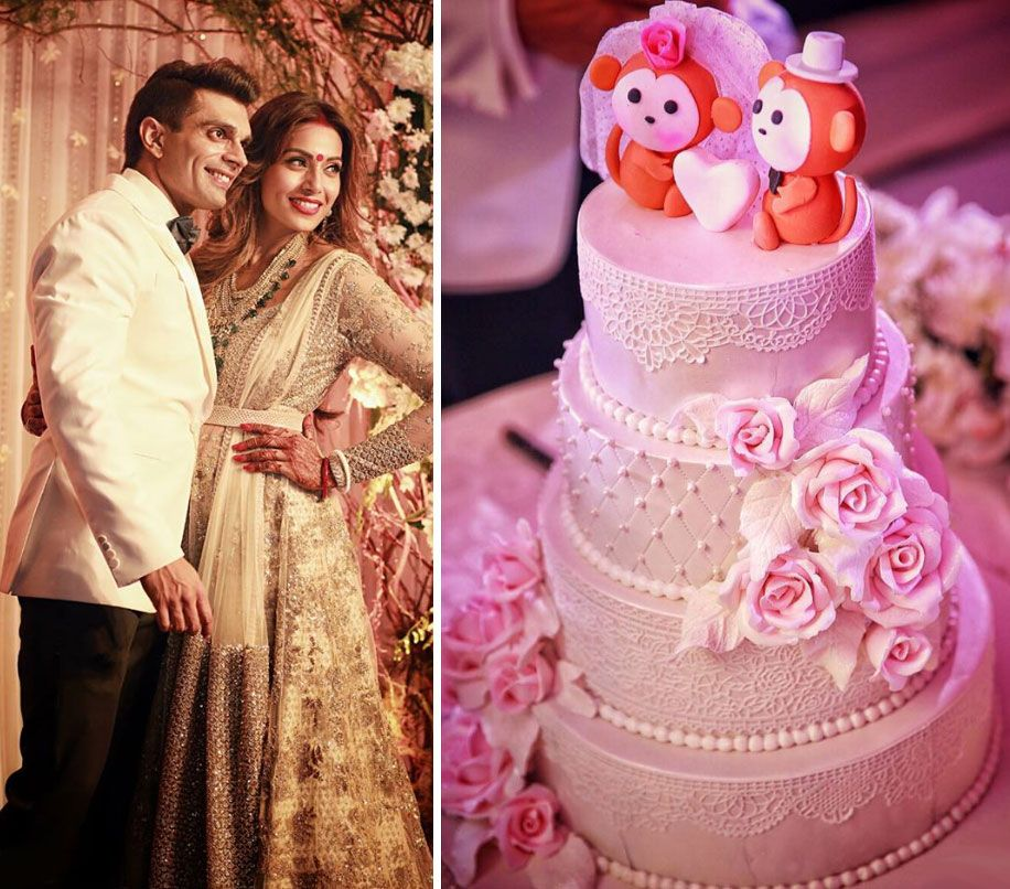 Celebrity Cakes Maker Bunty Mahajan Wedding 3 0 Pinterest Cake Makers Pink And White Weddings Celebrities
