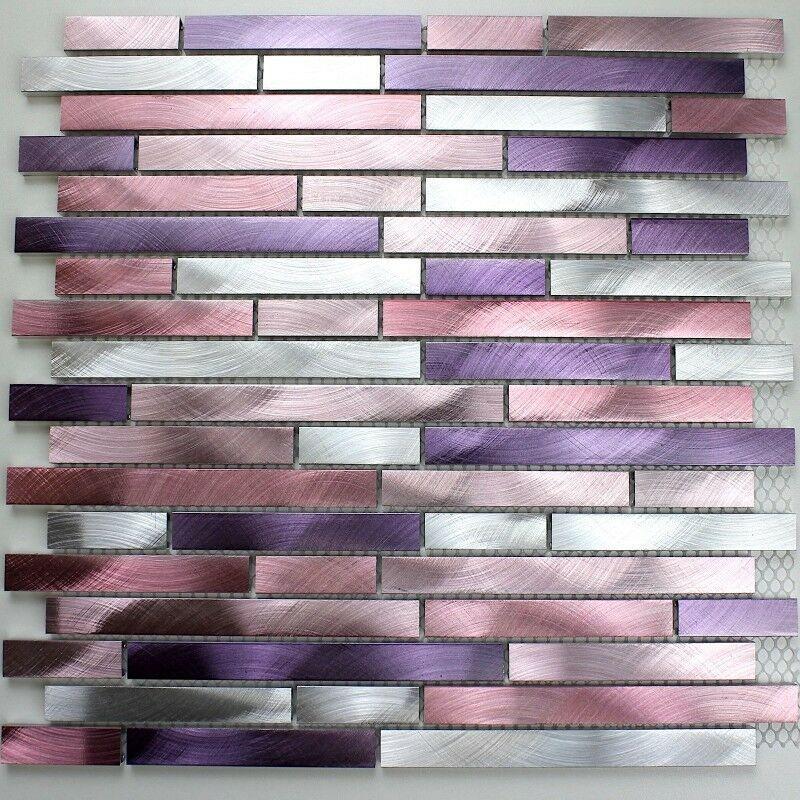 Aluminium Mosaic Tiles Kitchen Ma Ble Vio Home Garden Home