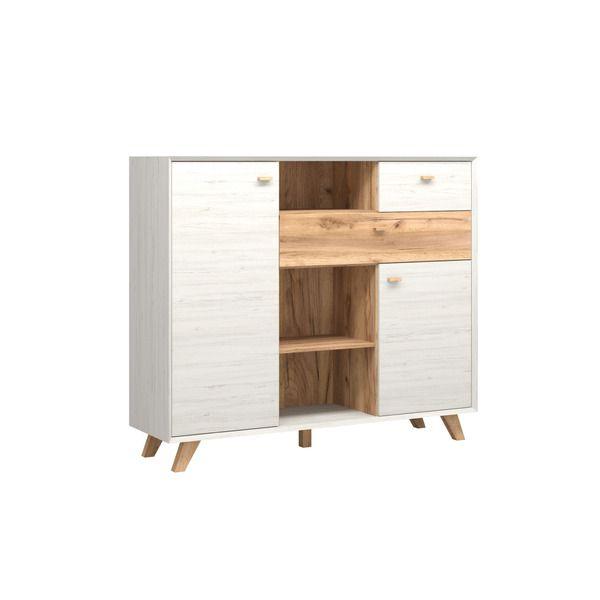 Die Möbelmacher sideboard 8751 calvi mit hohen füßen germania die möbelmacher