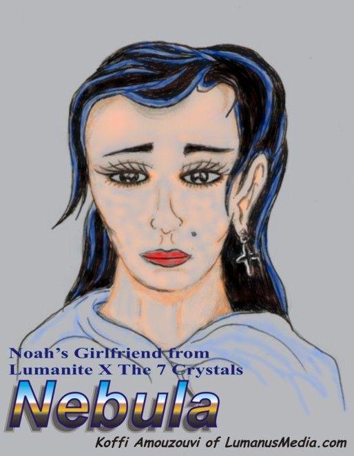 Lumanite X Images - Nebula - Noah's Girlfriend from Lumanite X - The 7 Crystals  http://www.amazon.com/dp/B008IDB33O