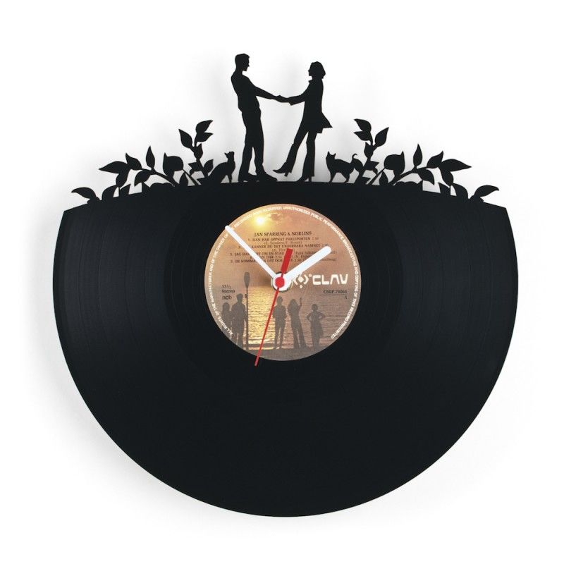 Estonian Designer Pavel Sidorenko Has Created A Series Of Re_Vinyl Wall  Clocks That Are Made Out Of Old Vinyl Records That Have Been Cut Into  Decorative De