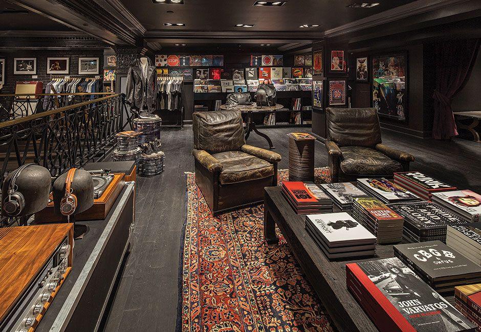 John Varvatos Opens A Rock U0027nu0027 Roll Retail Store In Detroit | Design: