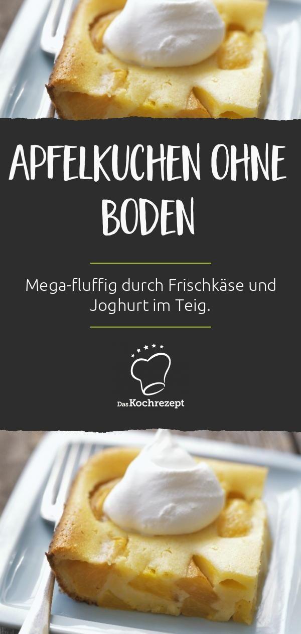 Apfelkuchen ohne Boden #applepie