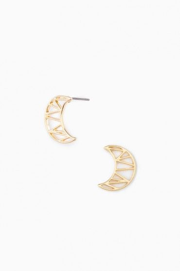 Lune Stud Earrings   Jewelry   Pinterest   Interesse 5986ef3198