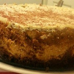 Pumpkin Cheesecake With Sour Cream Topping Recipe Pumpkin Cheesecake Sour Cream Cheesecake Pumpkin Recipes