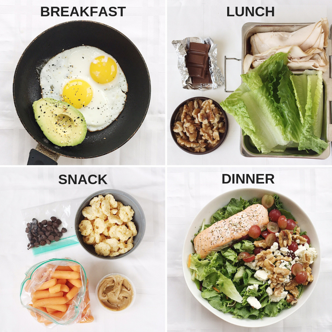 1600 Calorie High Protein, Low Carb Meal Plan with Chocolate for Lunch & Snack — The College Nutritionist #ketomealplan