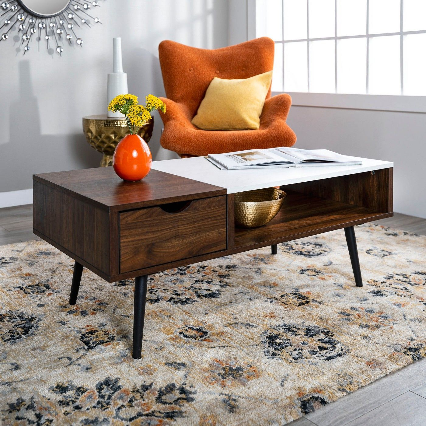 This Year S Best Cyber Monday Home Deals Because Your House Deserves A Present Too Faux Marble Coffee Table Modern Coffee Tables Furniture