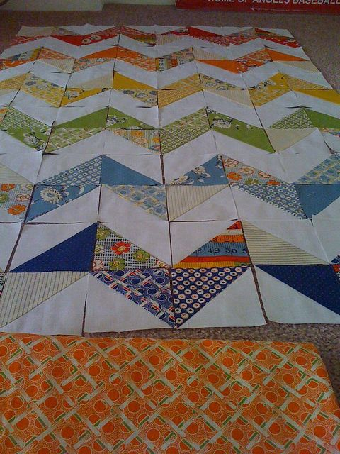 Triangle Cut Zig Zag Quilt Tutorial Quilt This Quilts