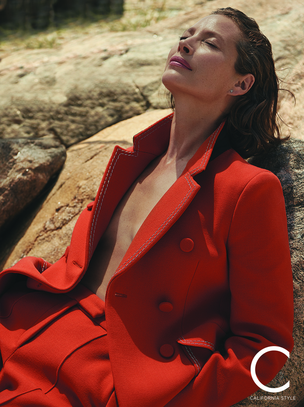 Christy Turlington Burns Talks Maternal Health With C Magazine On
