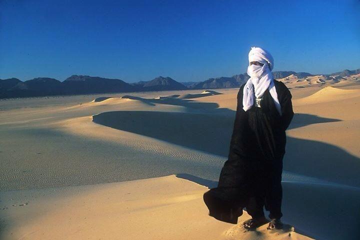 Blue Man .. the king of the desert