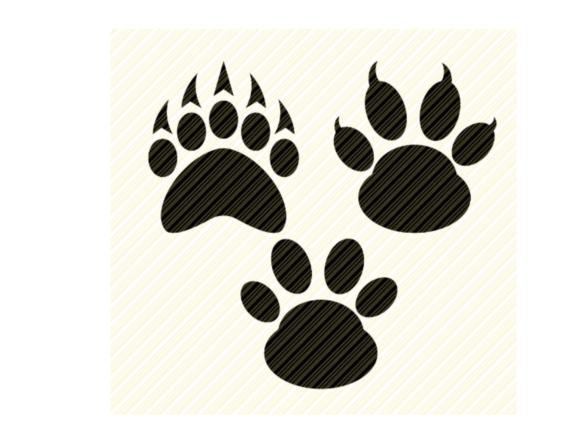 Paws Bear Paw Dog Paw Cat Paw Graphic Graphic By Svgplacedesign Creative Fabrica Katzenpfoten Hundepfoten