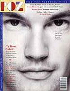 POZ's first cover: April/May 1994 featuring Ty Ross