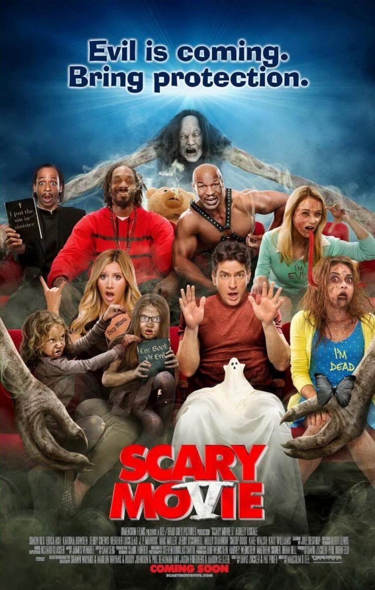 Scary Movie 5 Scary Movie 5 Peliculas De Miedo Peliculas En