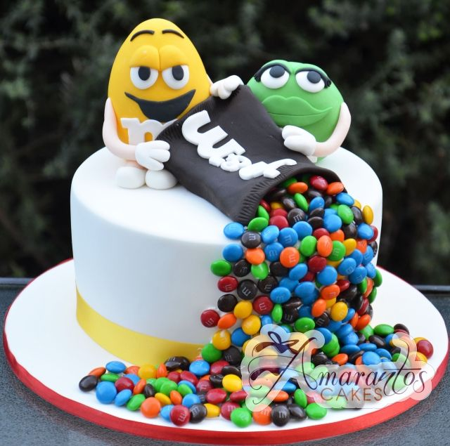 MM Cake Amarantos Designer Cakes Melbourne MMS Pinterest