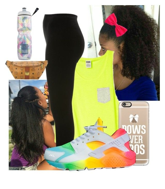 """""""Sunday... fun spot with the fam and Denae"""" by illestqveen on Polyvore featuring Casetify, Miss Selfridge, MCM and Victoria's Secret"""