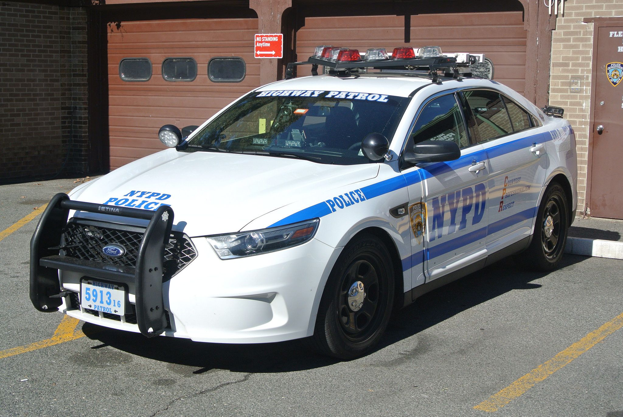 New York Police Department Highway Patrol With Images Ford