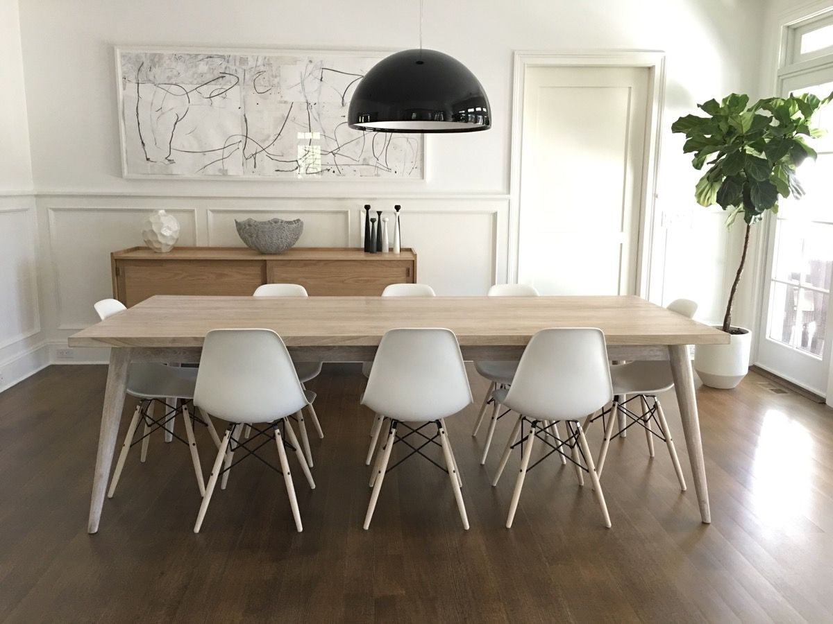 St Barts Cherry Wood Dining Table Btag Dining Table Black