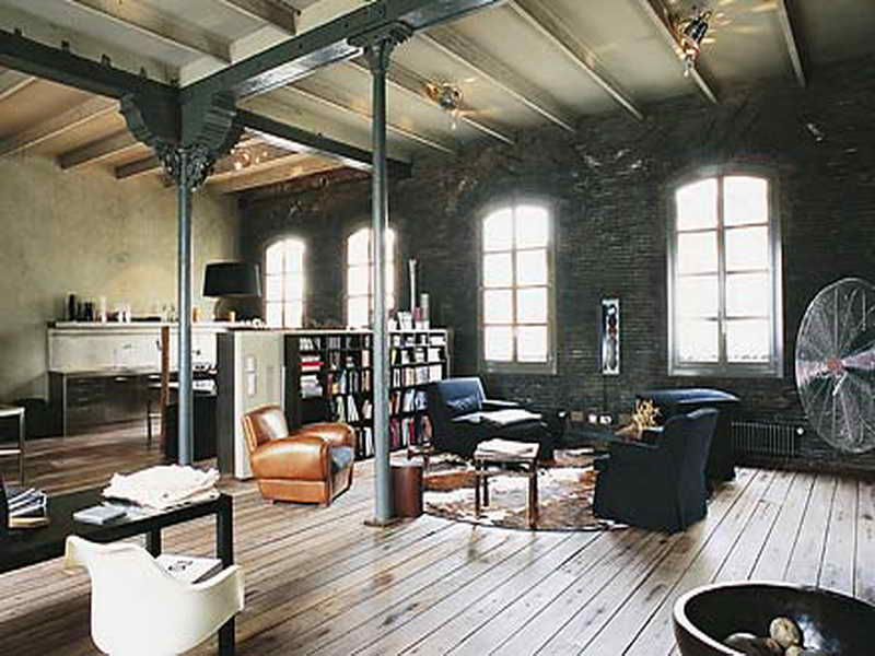 Industrial Home Interior industrial interior design | interior design home decor