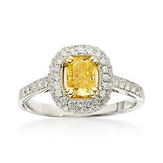 Pin By Sassy Pants On One Day Yellow Diamond Wedding Rings Wedding Ring Designs Wedding Rings