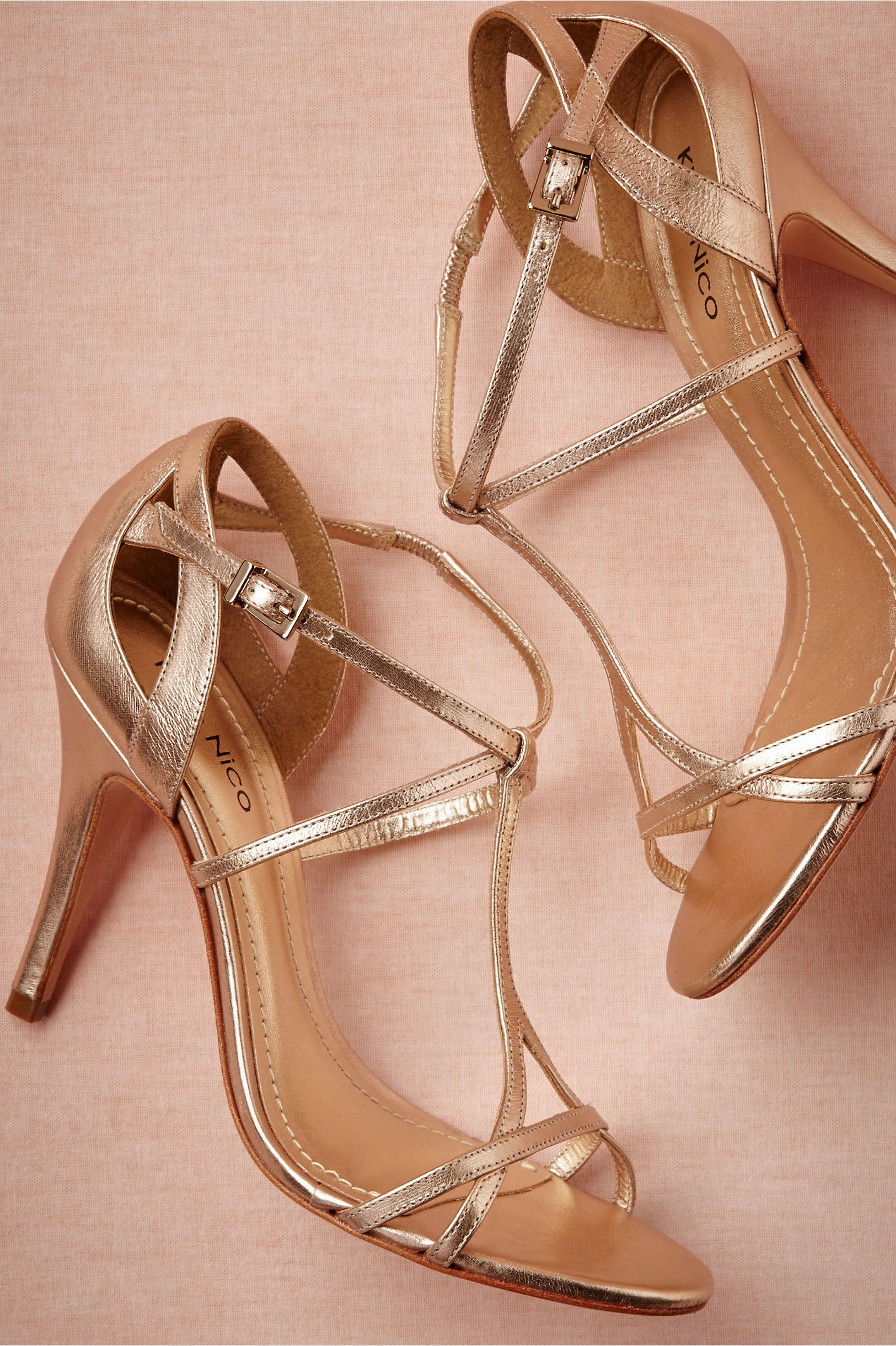 Or gold could work bridesmaid dresses pinterest gold shoes