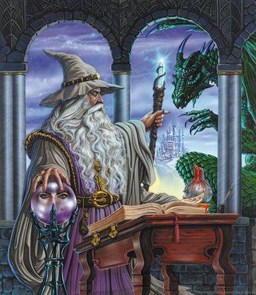 Wizard's Emissary by Ed Beard Jr. available as a limited edition print at www.edbeardjr.com
