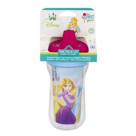 59de68c3fb4 The First Years Insulated Sippy Cup Disney Cinderella, 1.0 CT, Multicolor
