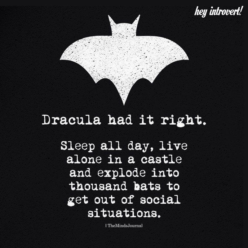 Dracula Had It Right