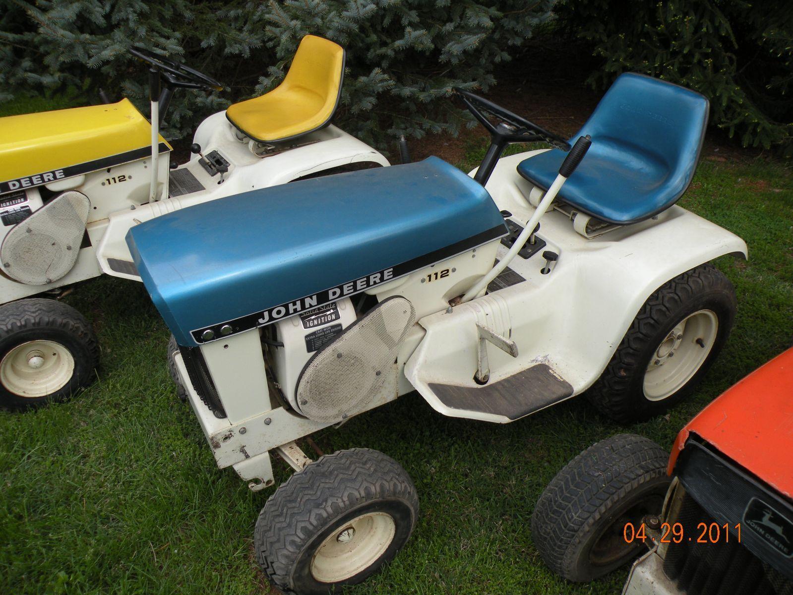 1969 112 Patio   Johndeereelfman   Gallery   JD Fanatics.com. Lawn TractorsJohn  Deere ...