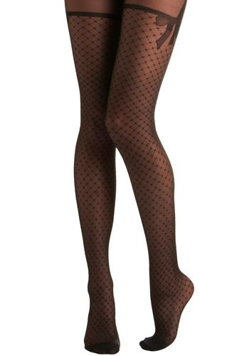 """Tights are one of my absolute favorite things in the world.  It allows you to wear skirts into the winter and add spice to any """"plain"""" or otherwise """"boring"""" outfit."""