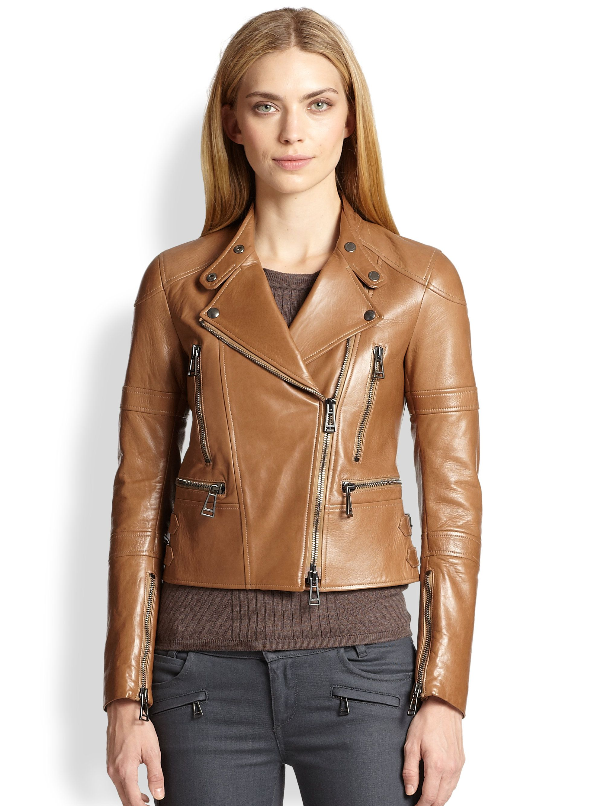 belstaff ladies leather motorcycle jacket