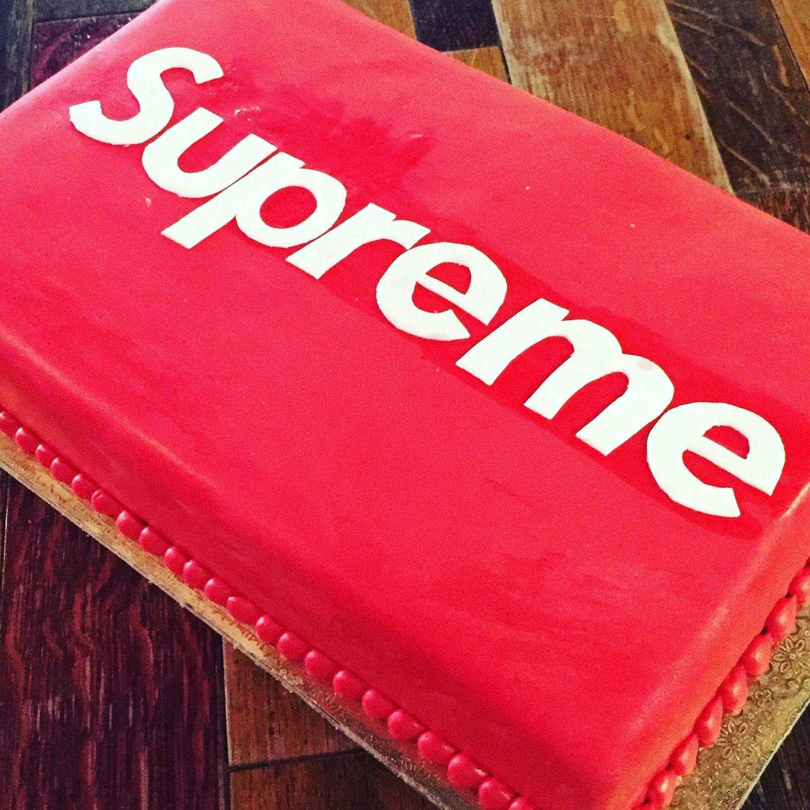 Supreme Brand Birthday Cake
