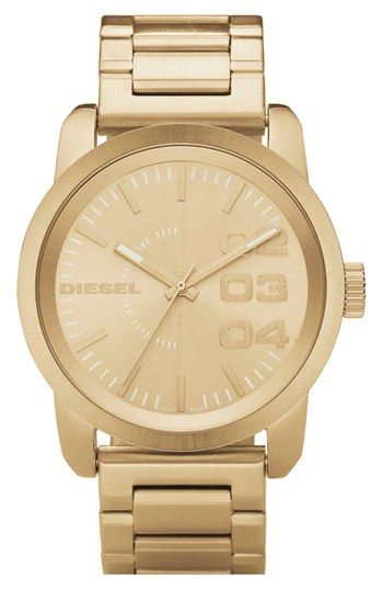 DIESEL® 'Franchise' Bracelet Watch