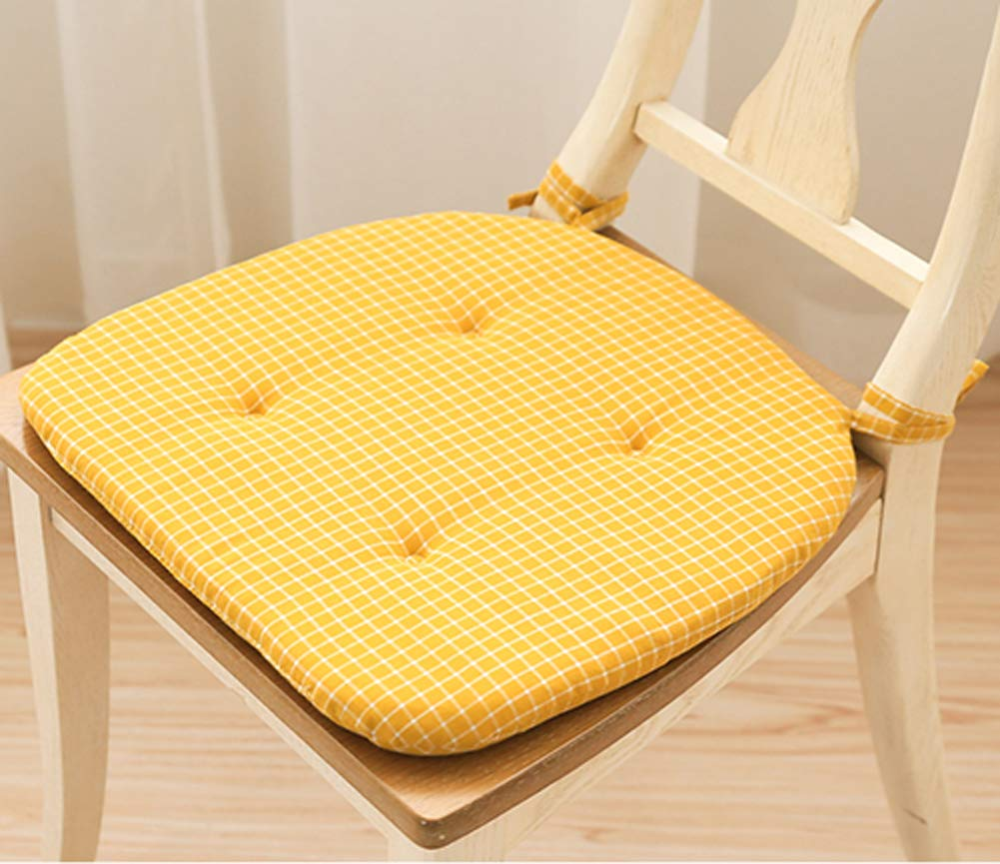Peacewish Office Chair Pads Set Soft Tufted