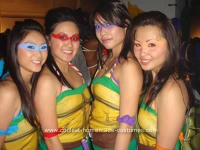 Coolest homemade girl ninja turtles costume turtle costumes ninja homemade ninja turtles costume solutioingenieria