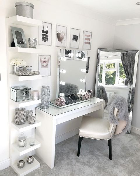 10 Easy Diy Makeup Vanity Ideas Room Ideas Bedroom New Room Bedroom Decor