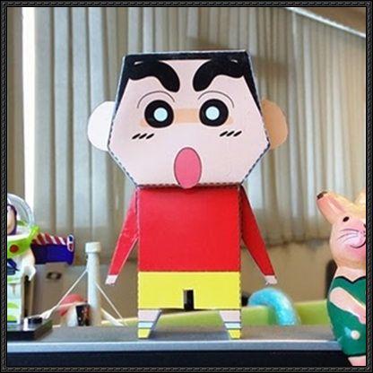 Pin By Isha Singh On Cartoons Paper Toys Crayon Shin Chan Free Paper