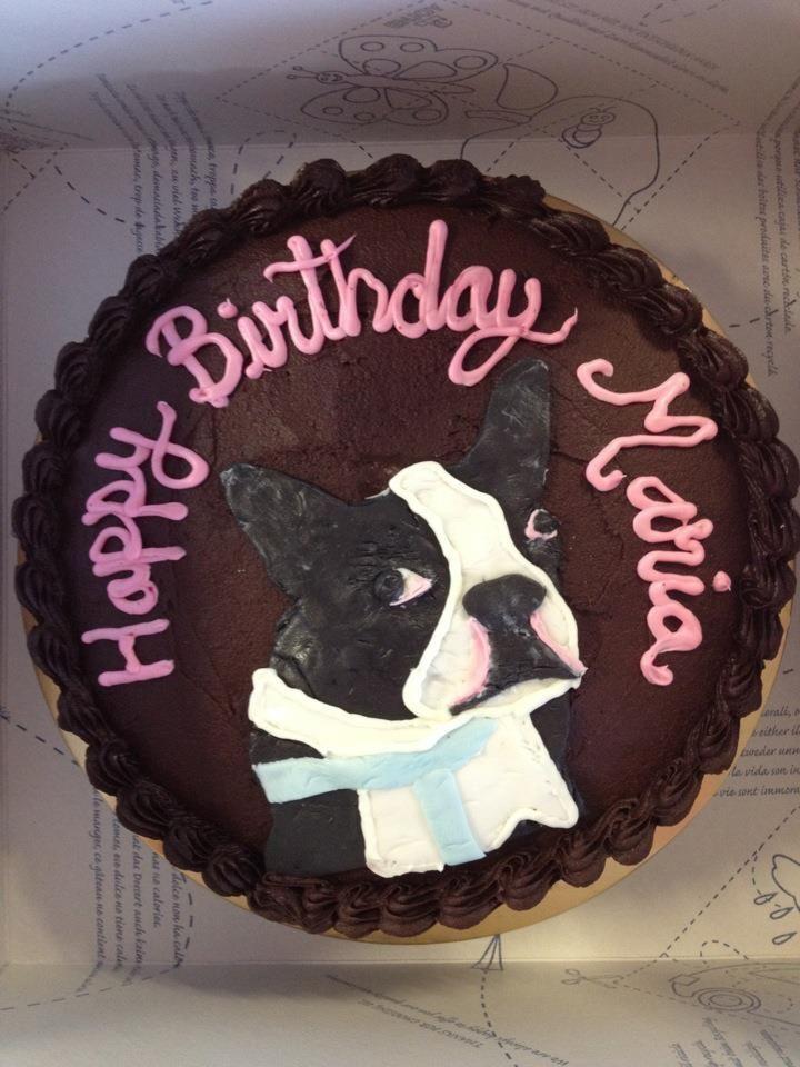 Boston Terrier Cake Just Need To Change The Name To Karen Haha