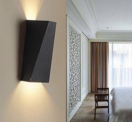 louvra applique murale int rieur led 10w lampe d corative moderne cr atif originale clairage. Black Bedroom Furniture Sets. Home Design Ideas