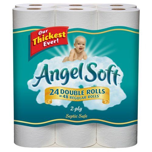 Angel Soft Double Roll Bath Tissue Only 0 20 Per Roll At Target