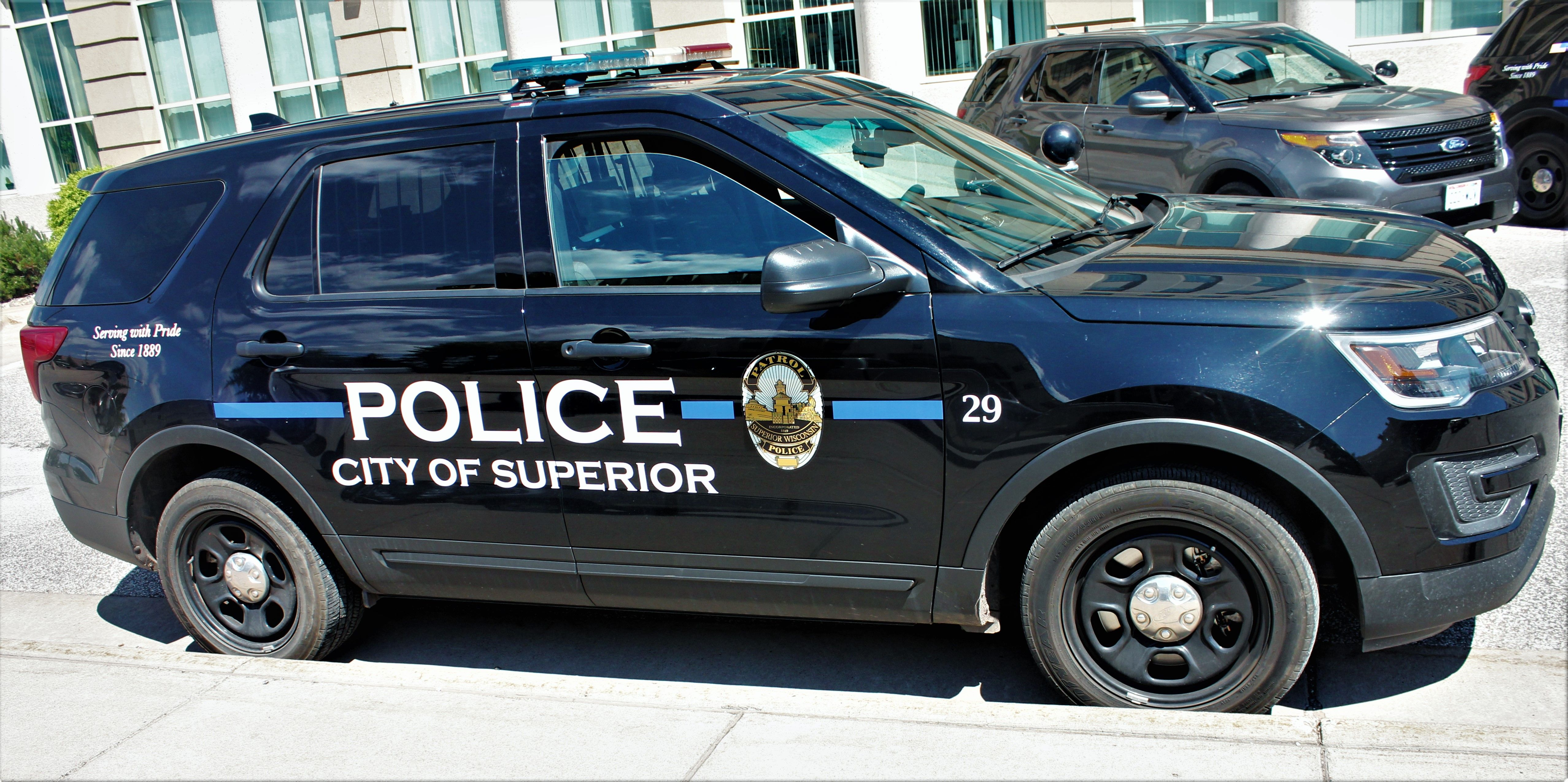 City Of Superior Wi Police 29 2016 Ford Interceptor Utility Police Cars Emergency Vehicles Police