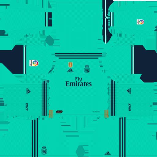 Real Madrid 2019 20 Third Kit Dls 19 Kits Dream League Soccer 1 Photo In 2020 Real Madrid Kit Real Madrid Madrid Football Club