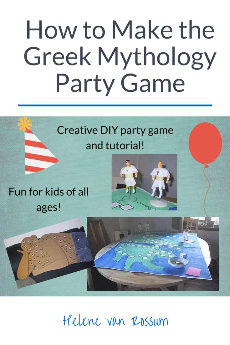 Learn how to make the ultimate Greek mythology party game