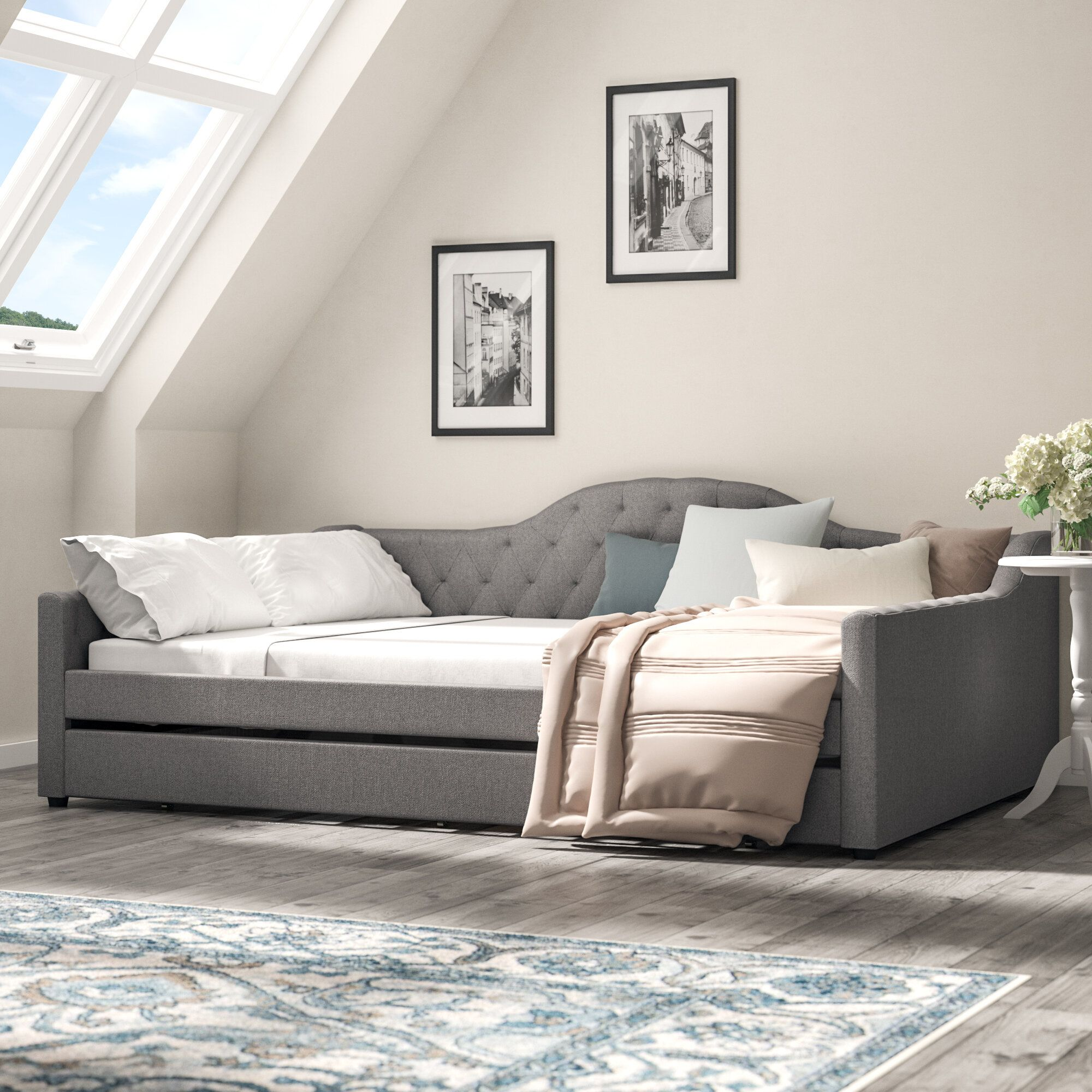 ZanowitZ Daybed (With images) Daybed with trundle, Twin