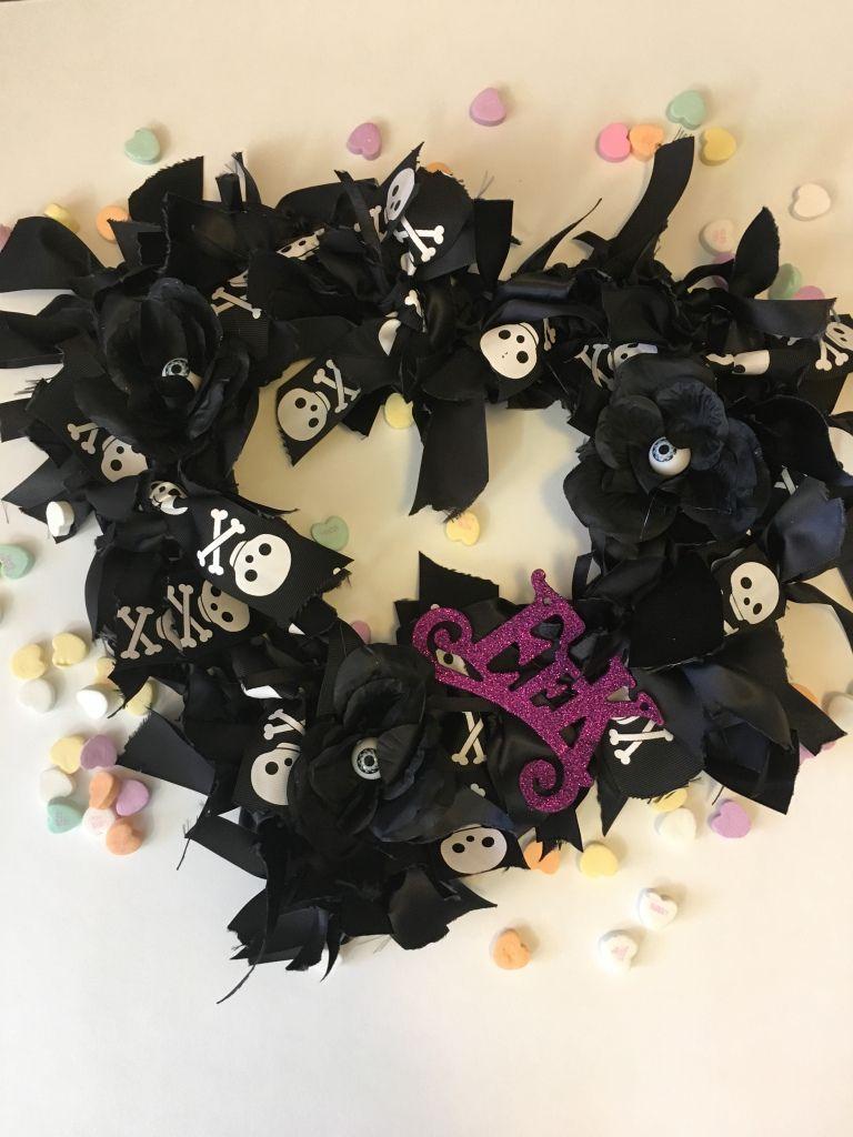 Diy Valloween Wreath Halloween Mesh Wreaths Wreaths Halloween Wreath