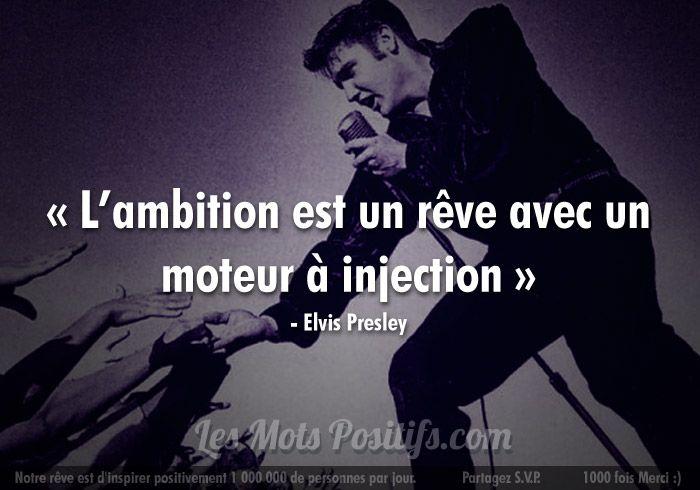 Elvis Presley Deja 35 Ans Citations De Celebrites Citation Elvis Presley