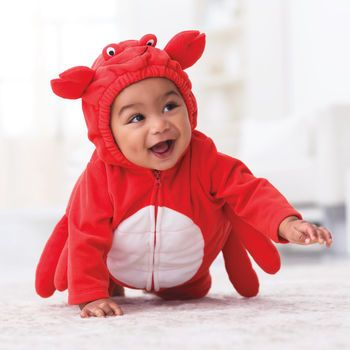 BCS+CO Smiling Crab Infant Bodysuit