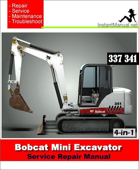 Pin On Bobcat Mini Excavator Service Manual Pdf