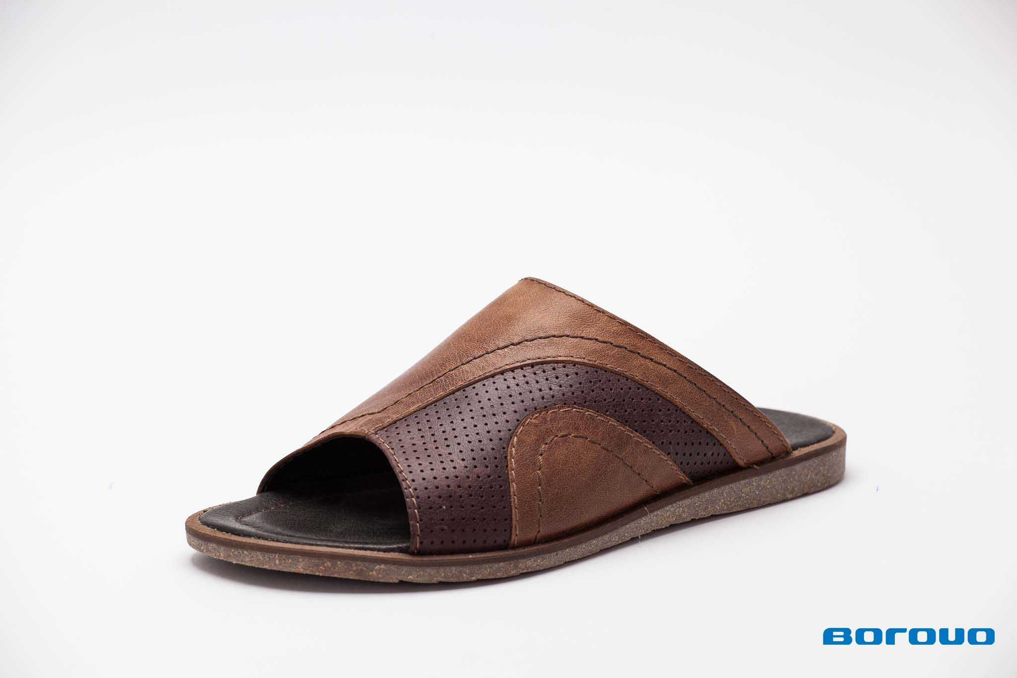 Borovo Slippers For Man All Hand Made From Natural